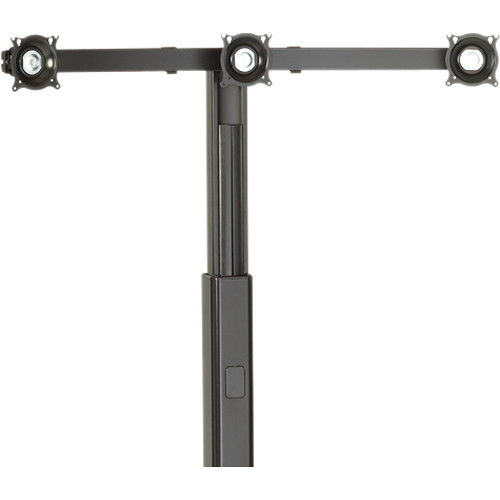 Chief KFA320 Triple Monitor Cart/Stand Accessory (Black)