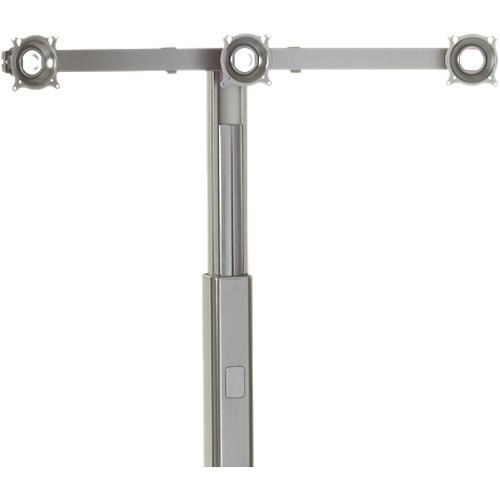 Chief KFA320 Triple Monitor Cart/Stand Accessory (Silver)