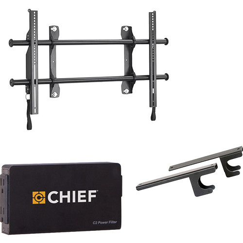 "Chief Fusion Universal Flat Panel Fixed Wall Mount Kit for 37-63"" Displays"