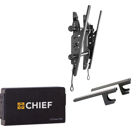 "Chief Fusion Universal Micro-Adjustable Tilt Wall Mount Kit for 37-63"" Displays"
