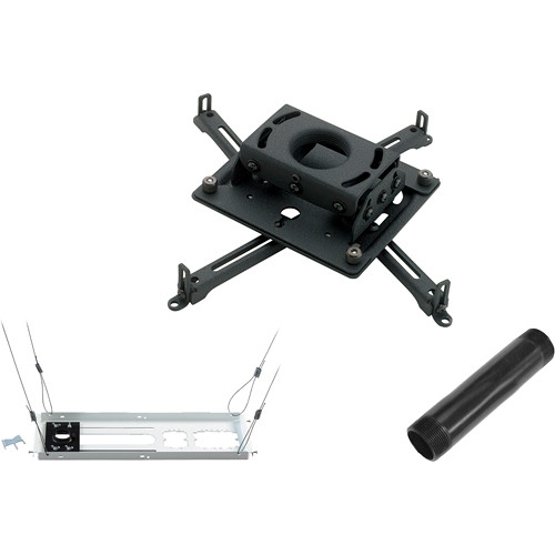 Chief KITMS006 Universal Projector Mount Kit (Projectors up to 50 lb, Black)