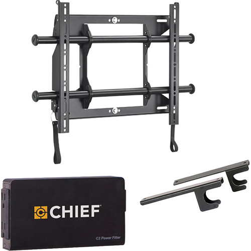 """Chief Fusion Universal Flat Panel Fixed Wall Mount Kit for 26-47"""" Displays"""