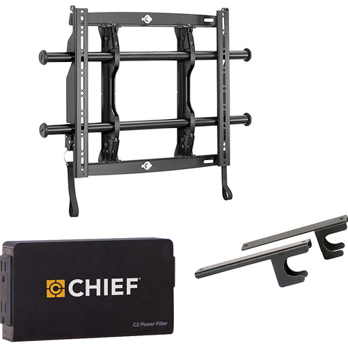 "Chief Fusion Universal Flat Panel Micro-Adjustable Fixed Wall Mount Kit for 26-47"" Displays"