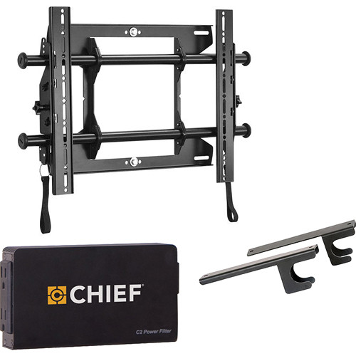 "Chief Fusion Universal Micro-Adjustable  Tilt Wall Mount Kit for 26-47"" Displays"