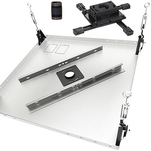 Chief KITPB003 Projector Ceiling Mount Kit (Black)