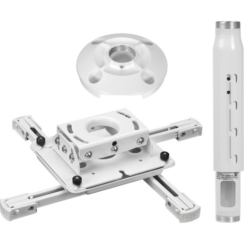 Chief KITPD012018W Universal Projector Mount Kit (Projectors up to 50 lb, White)