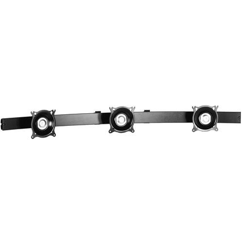 Chief KTA325B Triple Horizontal Array Pole Clamp (Black)