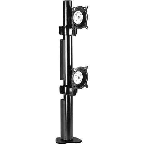 Chief KTC230B Dual Desk Clamp Flat Panel Mount (Black)