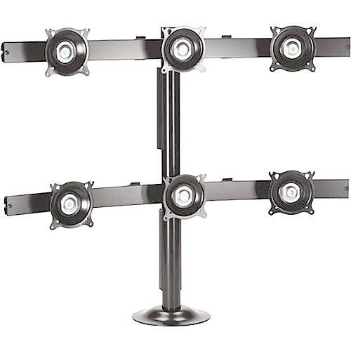 Chief KTG330S Six Monitor Grommet Mount (Silver)
