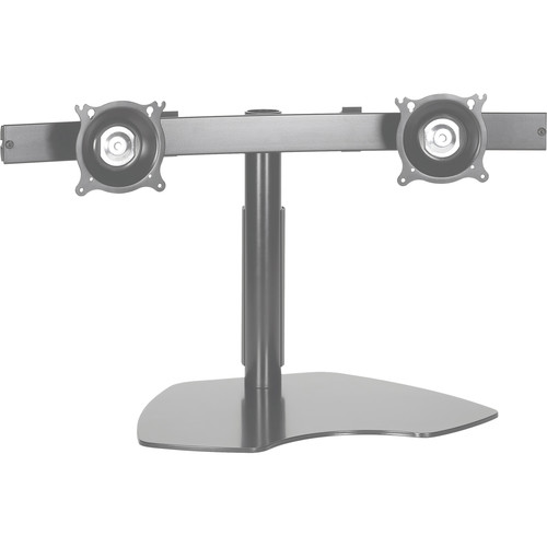 Chief KTP-220S  Dual Horizontal Monitor Table Stand (Silver)