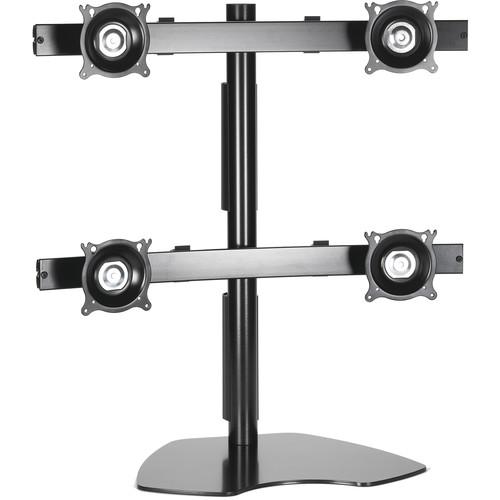 Chief KTP440B Quad Monitor Table Stand (Black)