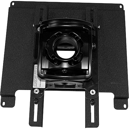Chief Model LSB-101, Lateral Shift Bracket (Black)