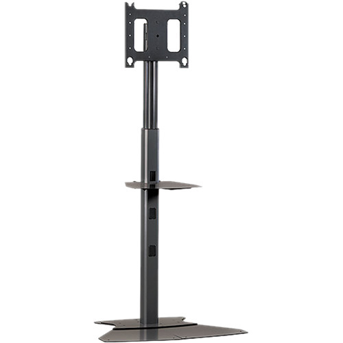 "Chief MF1-6000B  Flat Panel Floor Stand for Displays up to 50"" (Black)"