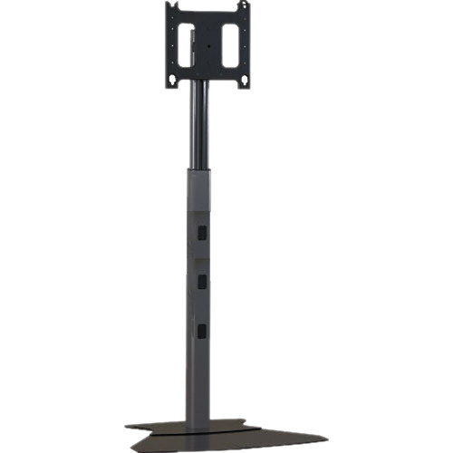 "Chief MF1-UB  Flat Panel Floor Stand for Displays up to 50"" (Black)"