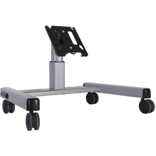 Chief MFQ-US Medium Confidence Monitor Cart (Silver)