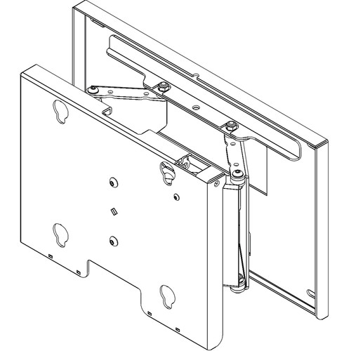 """Chief MPT6000B Swing Arm Tilt Wall Mount for TVs 30-50"""" (Black)"""