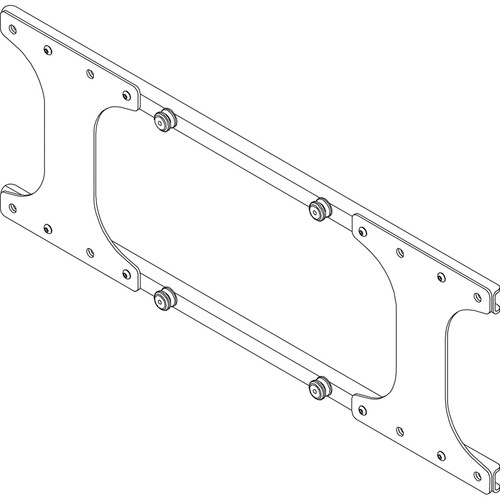 Chief MSB-6224 Custom Interface Bracket for Chief Wall Mounts, Stands or Carts