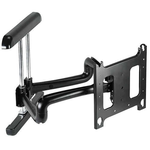 """Chief PDR-2000B Large Flat Panel Swing Arm Wall Mount, 37"""" (Without Interface, Black)"""