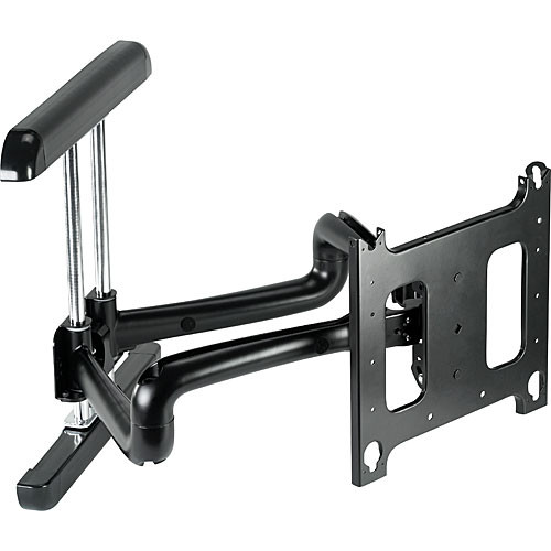 Chief PDR-2029B Flat Panel Dual Swing Arm Wall Mount (Black)