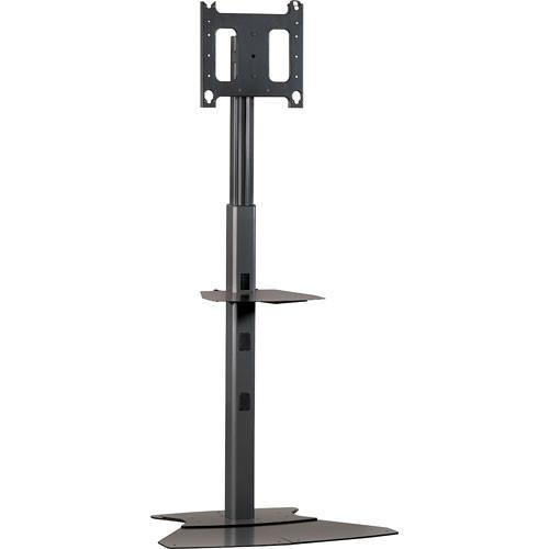 Chief PF1-2000B  Flat Panel Display Floor Stand  (Black)