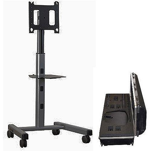 Chief PFCUB700 Mobile Flat Panel Cart and Case Kit (Black)