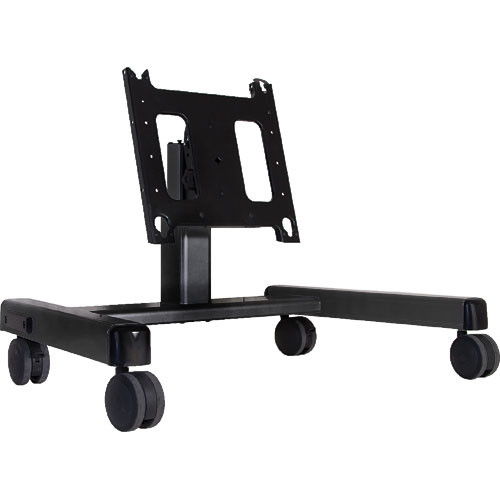Chief PFQ-U Confidence Monitor Cart (Black) with Universal Interface Bracket