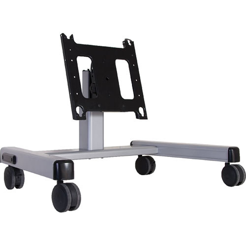Chief PFQ-U Confidence Monitor Cart (Silver) with Universal Interface Bracket