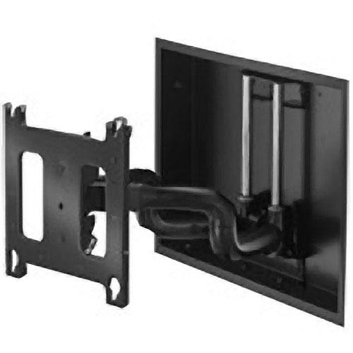 Chief PNRIWUB Universal Flat Panel Dual Swing Arm Wall Mount (Black)