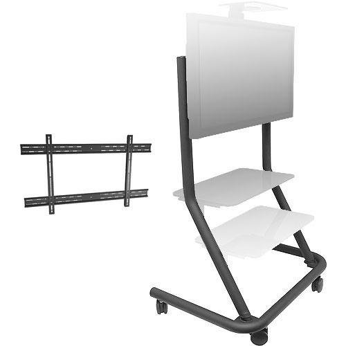 Chief PPCU Presenters Cart Kit (Black)