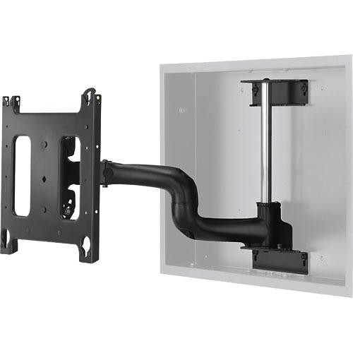 Chief PWRIW2000B In-Wall Swing Arm  (Black)