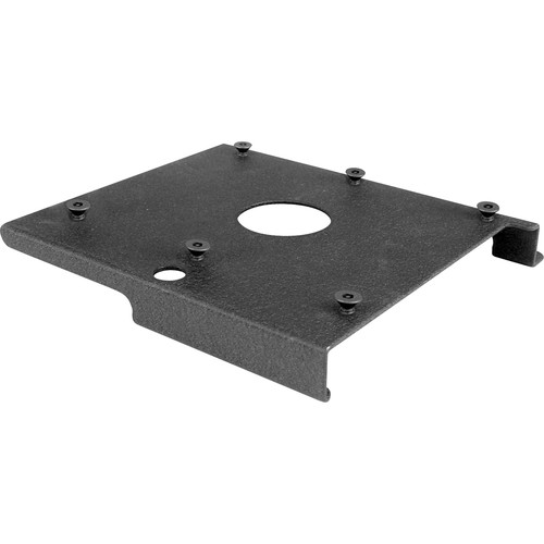 Chief SLM187 Custom Projector Interface Bracket for RPM Projector Mount (Black)