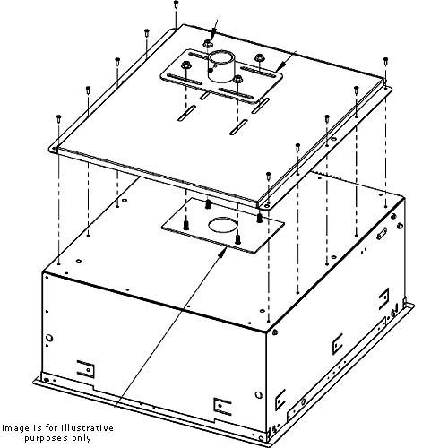 Chief Smart-Lift Mounting Plate - SMA-601