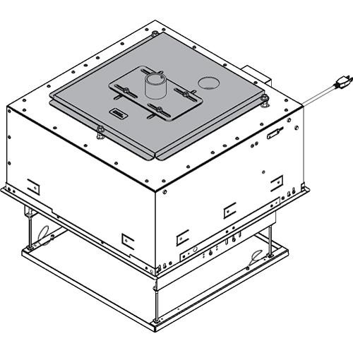 Chief SMA602 SL151 Smart-Lift Pipe Adapter (White)
