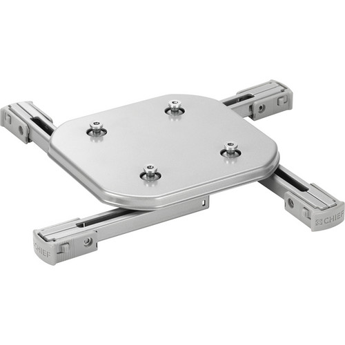 Chief SSMUS Universal Projector Interface Bracket (Silver)