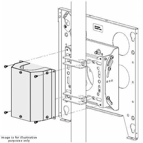 Chief Finishing Cover for TPM Pole Pitch-Adjustable Mounts TPA-105