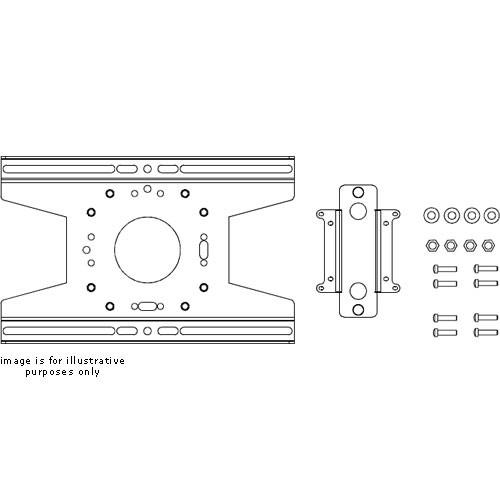 Chief Small Flat Panel Truss/Pole Static Mount (VESA® 75mm/100mm Compliant)