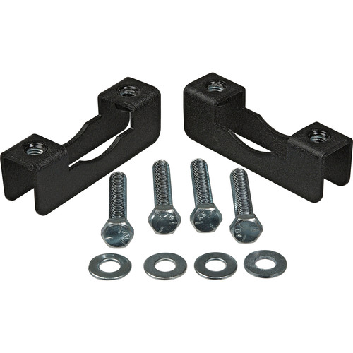 "Chief Pole Clamp Kit - 1 to 2"" OD (Black, 2 Pieces)"