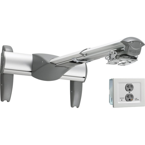 Chief Medium Short Throw & Universal Projector Mount with Power Conditioner