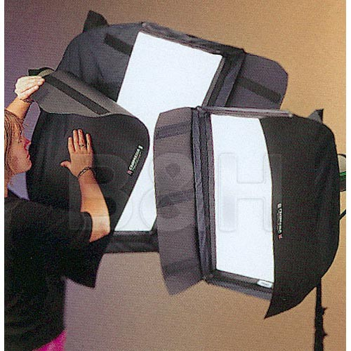 Chimera Barn Doors for Long Side of Small Strip Softbox