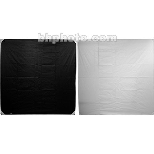 "Chimera 42x42"" Reflector Fabric - White/Black"