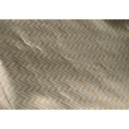 "Chimera 42x42"" Reflector Fabric - Reversible Silver-Gold Zebra/White"