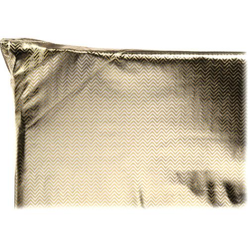 "Chimera 72 x 72"" Reflector Fabric, Silver Gold Zebra / Soft White"