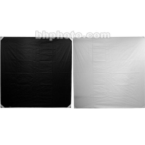 "Chimera 48x48"" Reflector Fabric - White/Black"