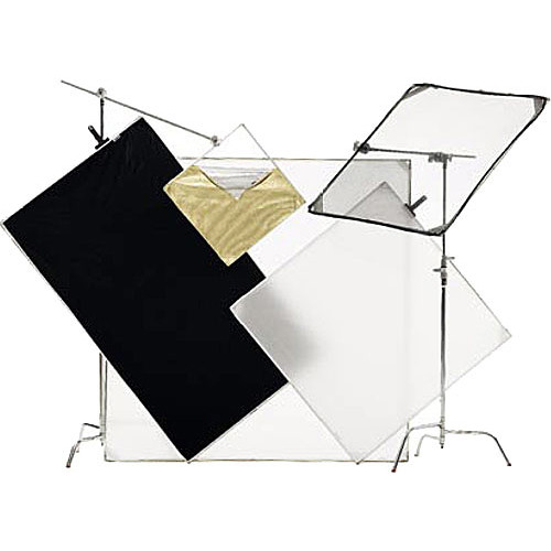"""Chimera High Definition/ENG Fabric Kit - includes: 2- 48 x 48"""" Aluminum Frames, 6- Fabric Panels, 2- Connectors, Duffle Case"""