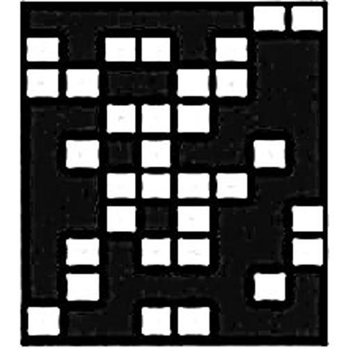 "Chimera Window Pattern (Domino, 16 x 16"")"
