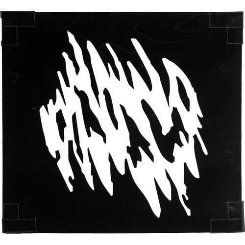 "Chimera Window Pattern - Sun Scratch - 42x42"""