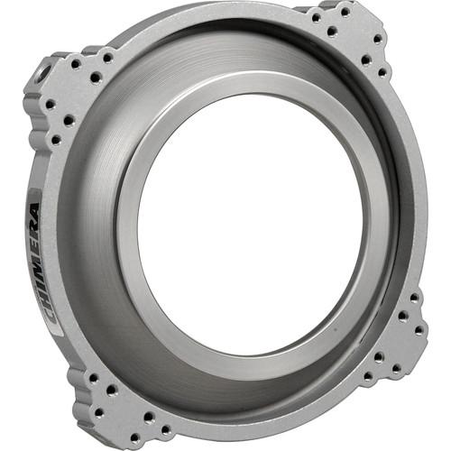 "Chimera Speed Ring, Aluminum for Video Pro Bank for Arrilite 600, Dedolight 200, 300, 400D, 500, 600, Mole-Richardson Midget 200, HMI 200, Betweenie 300, Teenie Weenie 600 & Tweenie 650 - Circular 5-1/8"""