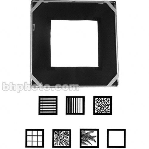 "Chimera Window Micro Pattern Kit - includes: 24x24"" Frame, Holder, 7 Patterns, Bag"