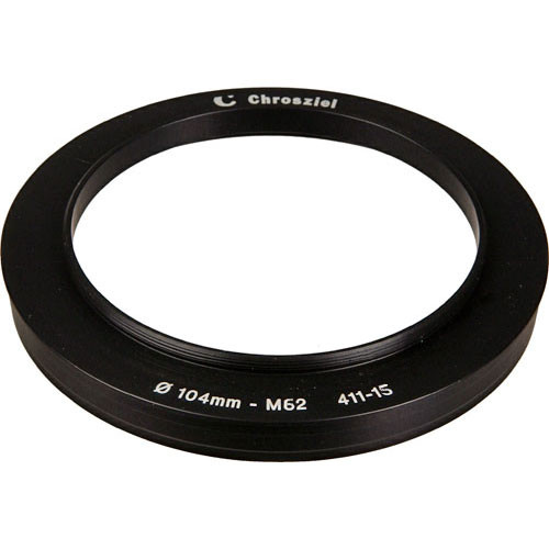 Chrosziel 411-15 104-62mm Step Down Adapter Ring