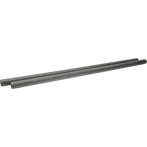 """Chrosziel 0.74"""" (19mm) Carbon Fiber Rods - 19.68"""" (500mm) (Pair)"""